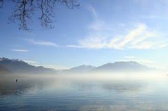 Annecy meer in Frankrijk Royalty-vrije Stock Foto's