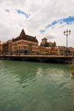 Annecy Old Town Canal Royalty Free Stock Photos