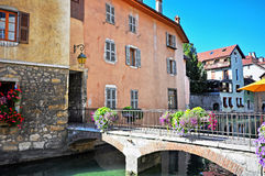 Annecy old town Royalty Free Stock Images