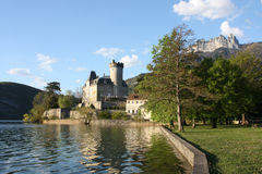 Annecy See stockfoto