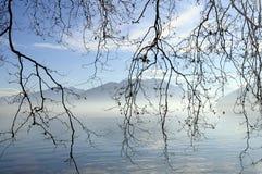 Annecy sjö i Frankrike Royaltyfria Bilder