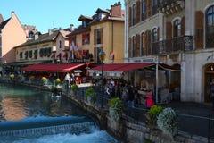Annecy-Stadt, Frankreich lizenzfreies stockbild
