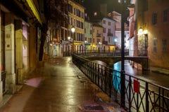 Annecy stare miasto fotografia royalty free