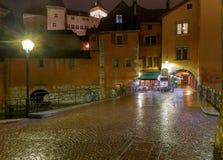 Annecy stare miasto fotografia stock