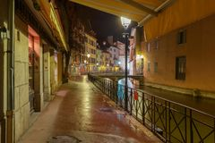 Annecy stare miasto zdjęcie royalty free