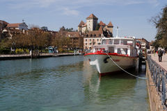 Annecy, Venice of The Alps Stock Photo