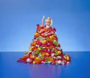 Annegando in Candy Fotografie Stock Libere da Diritti
