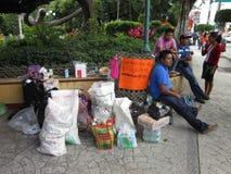 Annehmen von Spenden stockfotos