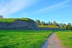 Annekron υπό μορφή αστεριού σε Vyborg, Ρωσία Στοκ Εικόνες
