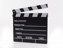 Annerisca con il film del maglio delle lettere di bianco isolato su backgroun bianco Immagini Stock
