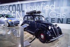 Annerisca Fiat 1939 508C Balilla alimentato da gas naturale compresso Fotografia Stock