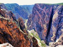 Annerisca il canyon del Gunnison immagini stock libere da diritti