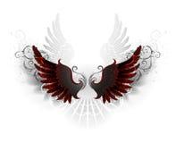 Annerisca le ali illustrazione vettoriale