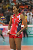 Annerys Victoria Vargas Valdez of Dominican Republic Stock Images