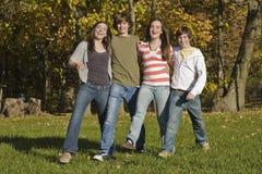Années de l'adolescence Photo libre de droits