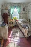 Annes rum i det gröna gavellantbrukarhemmet Fotografering för Bildbyråer