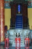 Annesso ad ovest Hall Temple delle compresse divine di cielo Pechino fotografia stock