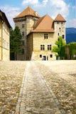 annesy κάστρο Γαλλία Στοκ Φωτογραφίες