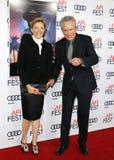 Annette Bening και Γουόρεν Μπίτι Στοκ Εικόνα