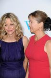 Annette Bening,Meg Ryan. Meg Ryan and Annette Bening  at the Los Angeles Premiere of 'The Women'. Mann Village Theatre, Westwood, CA. 09-04-08 Stock Images
