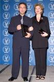 Annette Bening, Sam Mendes Στοκ φωτογραφία με δικαίωμα ελεύθερης χρήσης