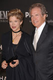 Annette Bening,Warren Beatty. Actor WARREN BEATTY & wife actress ANNETTE BENING at the 13th Annual Premiere Magazine Women in Hollywood gala at the Beverly Hills Stock Images