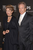 Annette Bening,Warren Beatty Royalty Free Stock Photo