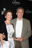 Annette Bening Warren Beatty Arkivbild
