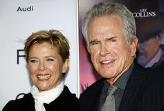 Annette Bening and Warren Beatty Stock Image