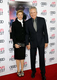 Annette Bening and Warren Beatty. At the AFI FEST 2016 Opening Night Premiere of `Rules Don`t Apply` held at the TCL Chinese Theatre in Hollywood, USA on Royalty Free Stock Image