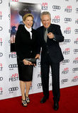 Annette Bening and Warren Beatty Stock Photos