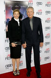 Annette Bening and Warren Beatty. At the AFI FEST 2016 Opening Night Premiere of `Rules Don`t Apply` held at the TCL Chinese Theatre in Hollywood, USA on Royalty Free Stock Images