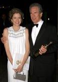 Annette Bening and Warren Beatty Stock Photo