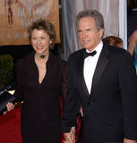 Annette Bening,Warren Beatty Royalty Free Stock Photos