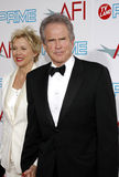 Annette Bening and Warren Beatty Royalty Free Stock Photos