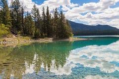 Annette Lake, Canada Stock Afbeeldingen