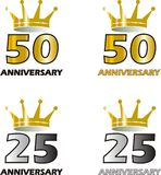 Anneversary logo Stock Images
