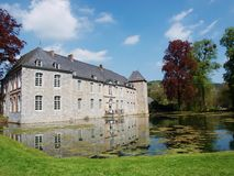 Annevoie Castle Royalty Free Stock Image