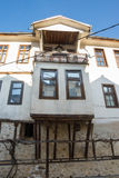 Annex to the second floor of an apartment house in Melnik, Bulgaria Stock Photo
