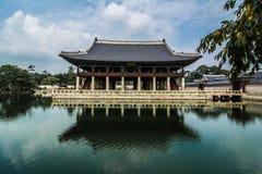Annexe de palais de Gyeongbokgung Images stock