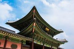 Annexe de palais de Gyeongbokgung Images libres de droits
