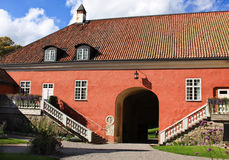 Annexe in Gripsholm castle. Castle and environment in Sweden Royalty Free Stock Photo