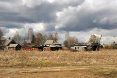 Annexes dans les zones rurales Photo stock
