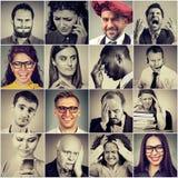 Annexes tenant des personnalités Photographie stock libre de droits
