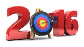 2016 anni Immagini Stock