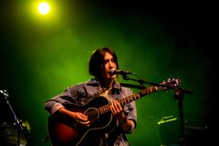 Anni B Bonbon führt im Konzert an FLUNKEREI Festival durch Lizenzfreie Stockfotografie