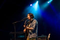 Anni B Bonbon führt im Konzert an FLUNKEREI Festival durch Lizenzfreies Stockbild