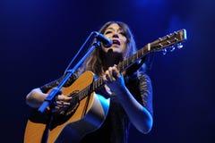 Anni B Sweet performs at Sant Jordi Club Royalty Free Stock Photography