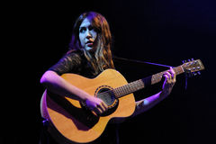 Anni B Sweet performs at Sant Jordi Club Stock Image
