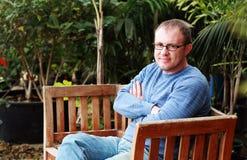 35 anni bei dell'uomo Fotografia Stock Libera da Diritti
